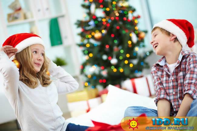 Сценки на новый год в стихах для детей